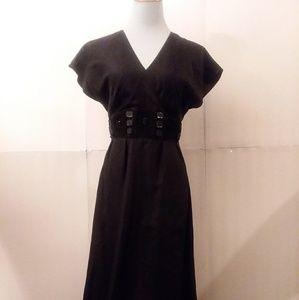 Ellen Tracy Silk Empire LBD Dress Size 4